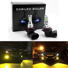9006 HB4 LED Fog Lights Conversion Bulbs Kit 35W 4000LM 3000K Yellow Error Free