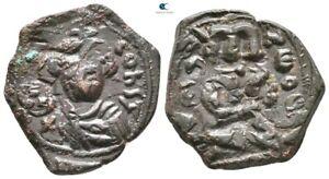 Savoca Coins Constans II Follis Cruciger Cross 5,24 g / 24 mm @GEG0583