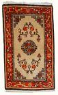 Handmade vintage Mongolian rug 2,9' x 5,2' ( 90cm x 160cm ) 1970 - 1C349