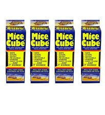 Mice Cube 4 Pack, Reusable Humane Mouse Trap, New, Free Shipping