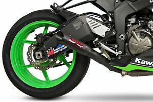 Coffman Shorty Slip On Exhaust Kawasaki Ninja ZX6R 2009-2017 2018 2019 2020 2021