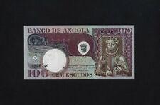 PORTUGAL ANGOLA 100 ESCUDOS 1973 P-106 UNC