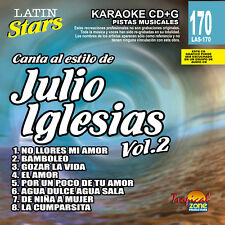 Karaoke Latin Stars 170 Julio Iglesias Vol.2