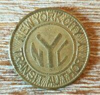 (#946) ETAT UNIS; JETON Transport Newyork city transit  3,90 grammes