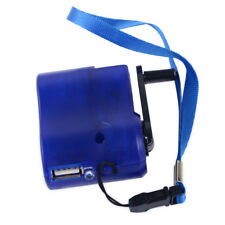 USB Cargador De Emergencia Portátil de Mano Manivela Dynamo Generador teléfono celular móvil