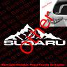 Subie Mountain Life Vinyl Die Cut Car Windows Decal WRX Off Road RC117