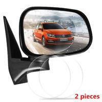 2Pcs Car Rear Mirror Anti Fog Rainproof Protective Film Sticker