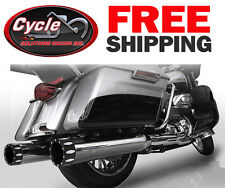 """RC Components RCX116C-26E 4.5"""" Rival Eclipse Slip-Ons 2017 Harley Touring"""
