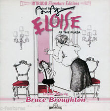 ELOISE AT THE PLAZA Bruce Broughton INTRADA CD Signed AUTOGRAPHED Score SOLD OUT