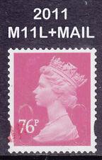 2011 Machin 76p Bright Rose M11L+MAIL SG U2927 DLR 2B Fine Used Security Stamp