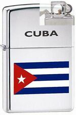 Zippo 250 cuban flag Lighter with PIPE INSERT PL