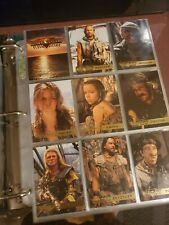 WATERWORLD THE MOVIE 1995 FLEER ULTRA almost full set IN PAGES  NEAR MINT