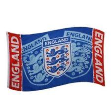 Drapeaux de collection sur le football bleus