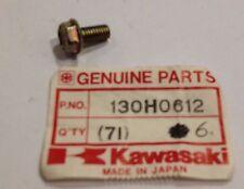 Bullone flangiato 6x12 - Bolt Flanged 6x12 - Kawasaki ZX750 - NOS 130H0612