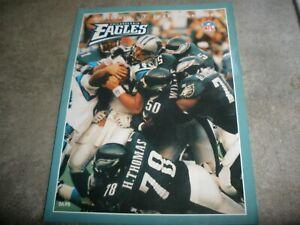 Philadelphia Eagles Official 1996 Team Yearbook EUC