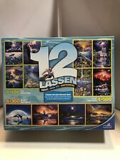 2012 Mega Puzzle 12 Lassen Puzzle Pack Fish Wildlife Beach Scenery Used