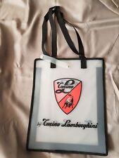 Tonino Lamborghini shopping bag design Ferruccio son accessory Muira Espada P400