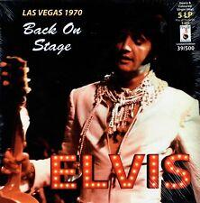 Elvis - LAS VEGAS 1970/ BACK ON STAGE - 5 LP 3 CD Box Set Ltd Ed New COLOURED LP