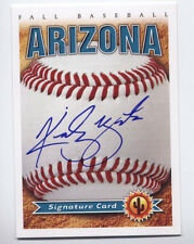 2012 Arizona Fall League AUTO card KIRBY YATES 2016 New York Yankees