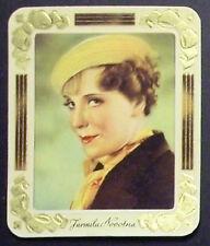 Jarmila Novotna 1934 Garbaty Film Star Series 2 Embossed Cigarette Card #268