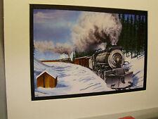 Western Pacific M 80 Mallet at Bieber California   Railroad Archives TI