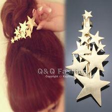 Blogger Fav Shooting Star Hair Pin Clip Cuff Wrap Claw Snap Head Barrette Bridal