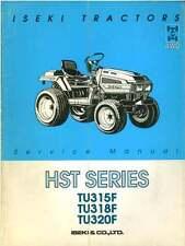 Iseki Tractor TU315F TU316F TU318F HST Service Manual