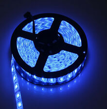 Striscia di Del 5050 BLU IMPERMEABILE 5m 60 Led/mq 300 Led strip IP65 Waterproof
