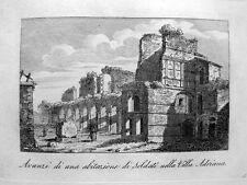 Villa Adriana energici Villa energici Italia Tivoli Roma 1820 Italia Adriano
