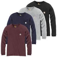 Carhartt Damen Longsleeve Work Pocket Langarmshirt Shirt Oberteil XS S M L XL