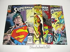 Action Comics 4 Comic Lot DC 1993 #692 693 695 700 Superman Fall Metropolis Lobo