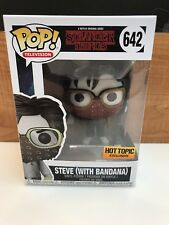 Funko Pop! Stranger Things Steve With Bandana Hot Topic Exclusive In Protector