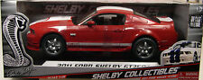 SHELBY COLLECTIBLES 1:18 SCALE DIECAST METAL RED 2011 SHELBY GT350 MUSTANG