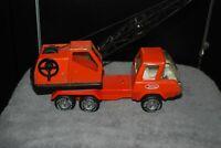 "Tonka Toy Vintage Crane Boom Truck Vehicle 1960's Steel Construction 12"""
