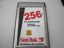 SanDisk 256mb PCMCIA PC Card ATA