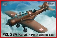 PZL 23 A KARAS LIGHT BOMBER (POLISH AF MARKINGS 1939) #505  1/72 IBG