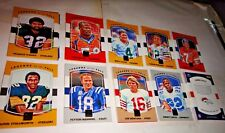 LEGENDS OF THE FALL, 2017 DONRUSS FOOTBALL, PICK TEN CARDS FROM LISTING