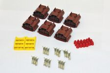 Skyline Brown Coilpack Connectors - R32, R33, R34, RB20, RB25, RB26 Superforma