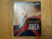 Joker Steelbook 2019 [4K Ultra HD/Blu-Ray/Digital] Best Buy Exclusive Sealed
