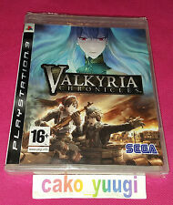 VALKYRIA CHRONICLES SONY PS3 NEUF SOUS BLISTER VERSION FRANCAISE
