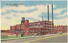 Ohio Leather Company in Girard OH Postcard