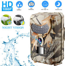 12mp Wildlife Cam Hunting Camera Trail PIR IR Motion Activated Security DC 5v UK