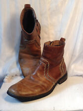 TWO PAIRS Men's Bed Stu Revolution boots.  Size: US 11, UK 10