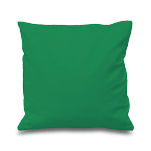 """Large Plain Cushions/Covers Green 22"""" 24"""" 26""""  Set of 2  Durable Quality"""