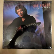 SEALED VInyl Record - Don McLean – Love Tracks - Capitol Records – C1-48080