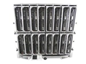 Dell PowerEdge M1000e Chassis w/ 16 x M600 Blade Servers(32GB Ram, 2 x 147GB HD)
