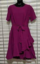 Lane Bryant Ruffle Hem Fit & Flare Dress size 12 NWT was $89.95