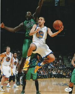 Steph Curry Golden State Warriors Signed Autograph 8x10 Photo