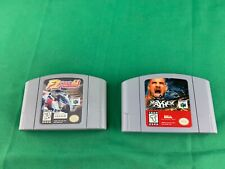 PAIR (2) N64 GAMES F-1 Pole Position 64 & WCW MAYHEM