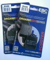EBC Organic FRONT Disc Brake Pads (2 Sets) Fits PIAGGIO MP3 250 (2006 to 2009)